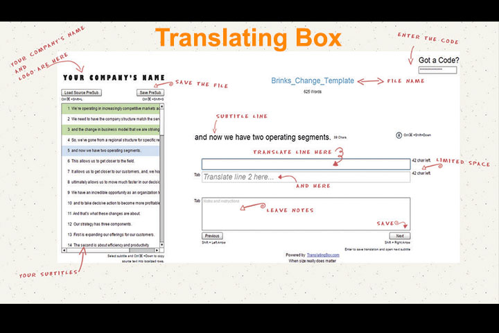 translatingbox